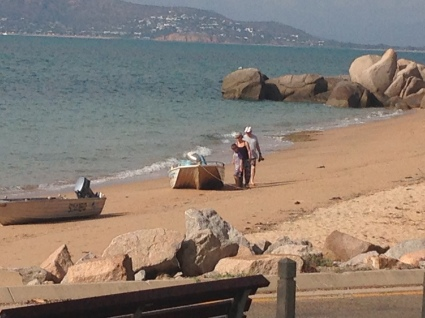looking from the Jetty area back through to Townsville