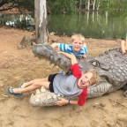 Holidays with the Boys! Billabong Sanctuary